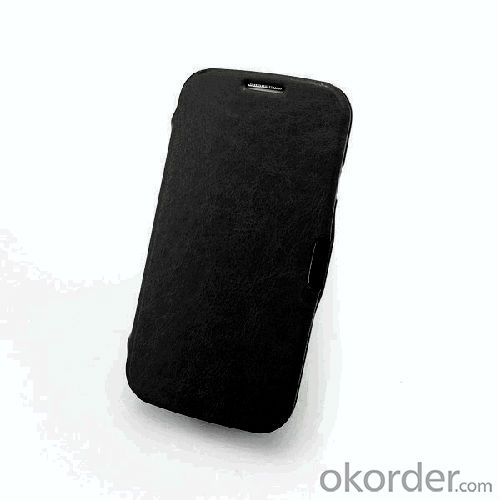 black smart cover case for galaxy s4