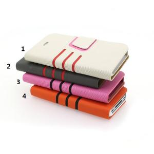 China Manufacturer 2014 New For iPhone 5 5s 5g 5gs Faux PU Leather Wallet Pouch Case With Credit Card Slot Holder All Colors