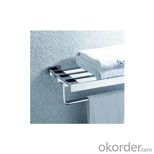 Brass Bathroom Shelf