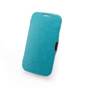 For Samsung Galaxy S4 Quality Folio Flip Case Auto Aleep Wake Smart Cover Case Vintage Retro Leather Case Blue All Colors