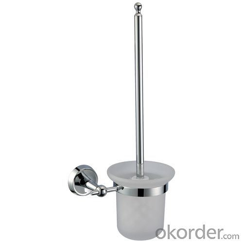 Mondern Exquisite Bathroom Accessories Solid Brass Toilet Brush Holder