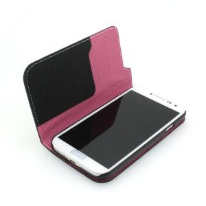 2014 Hot Selling For Samsung Galaxy S4 I9500 Wallet Pouch Case Multi Contrast Color With ID Credit Card Slot Holder