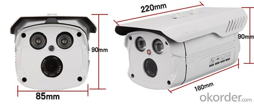 420TVL High Quality Array IR LED Bullet CCTV Camera Outdoor Series FLY-L906