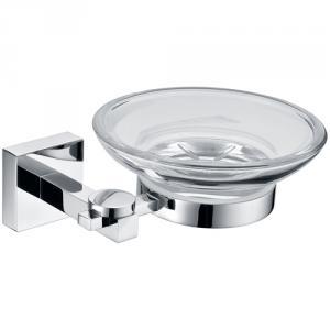 High Quality Mondern Decorative Bathroom Accessories Solid Brass Soap Dish Holder