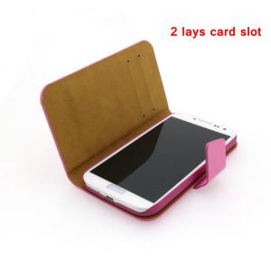 China Factory For Samsung Galaxy S4 I9500 With Card Slot Cross Pattern Leather Stand Case Smart Cover White Multi Colors
