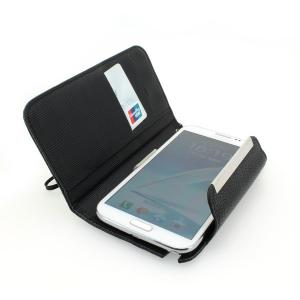 2014 Hot Sale Business Wallet Pouch Case For Samsung i9500 Galaxy S4 Litchi Grain Horizontal Flip Case Cover Black