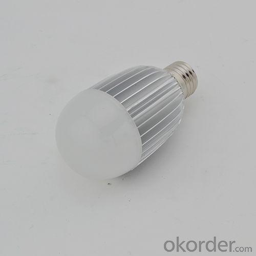 LED Bulb PC Cover Aluminum 8W E27