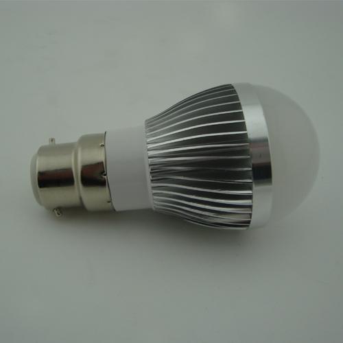 LED Bulb PC Cover Wide Light Beam Angle 5W E27