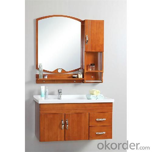 Wholesale Antique Oak Mirror Cabinet Ceramic Top Main Cabinet
