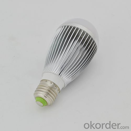 Newest Factory LED Bulb PC Cover Aluminum 7W E27
