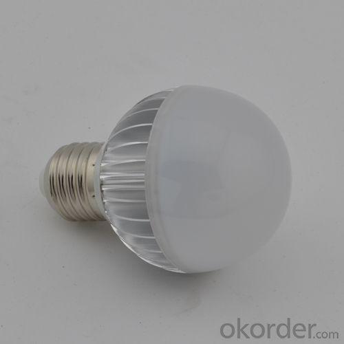 LED Bulb PC Cover Aluminum 4W E27