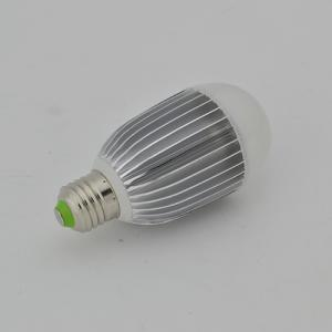 LED Bulb PC Cover Aluminum 8W E27