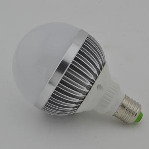 LED Bulb PC Cover Aluminum 12W E27 Wide Beam Angle