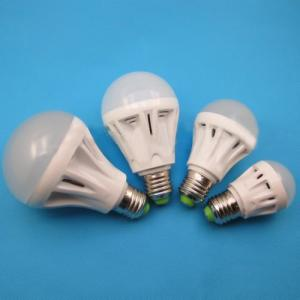 LED Bulb Light PMMA Cover+Plastic Radiator Epistar SMD 2835 E27 3W