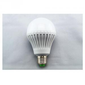 LED Bulb Light 9W PMMA Cover+Plastic Radiator Epistar SMD 2835 E27