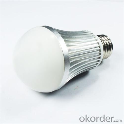 Factory LED Lamp PC Cover Aluminum 10W E27/ E26 810lm 85-265V LED Bulb Light