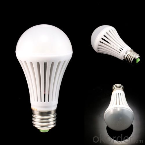 5W LED Bulb Light -B range Aluminum +Plastic Radiator Epistar 2835 E27/B22