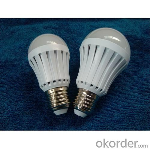 12W LED Bulb Light PMMA Cover+Plastic Radiator Epistar SMD 2835 E27