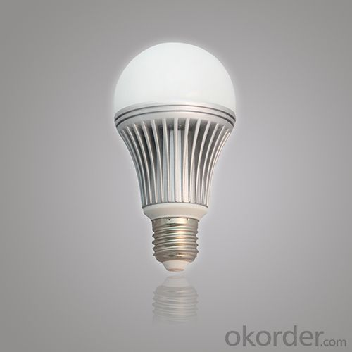 China Factory High Quality 5W LED Globe Bulb AC E27 85V-265V Warm Pure Cool White Energy Saving Bulb Light