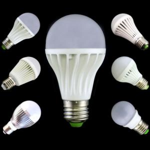 LED Bulb Light Aluminum Epistar SMD LED Chip E27/B22 7W High Effecient