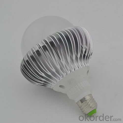 Factory 2 Years Warranty Aluminum LED Bulb PC Cover High Power 24W E27