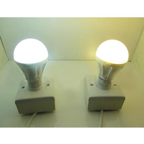 2 Years Warranty  PC Cover LED Lamp Die-cast Aluminum 6W E27/ E26 450lm 85-265V LED Bulb Light