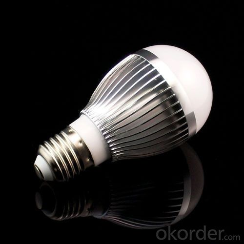 Aluminum LED Lamp PC Cover 8.5W E27/ E26 630lm 85-265V LED Bulb Light
