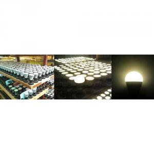 LED Bulb Light Aluminum High Effecient Epistar SMD Epistar E27/B22 5W