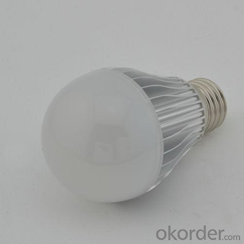 China Factory Quality 6W E27 Dimmable LED Globe Bulb Light Warm Pure Cool White AC 85V-265V
