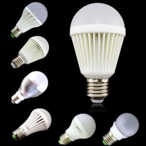 5W LED Bulb Light Aluminum Radiator Epistar SMD 2835 E27/E26
