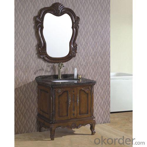 Classical Oak Bath Cabinet Bathroom Vanity