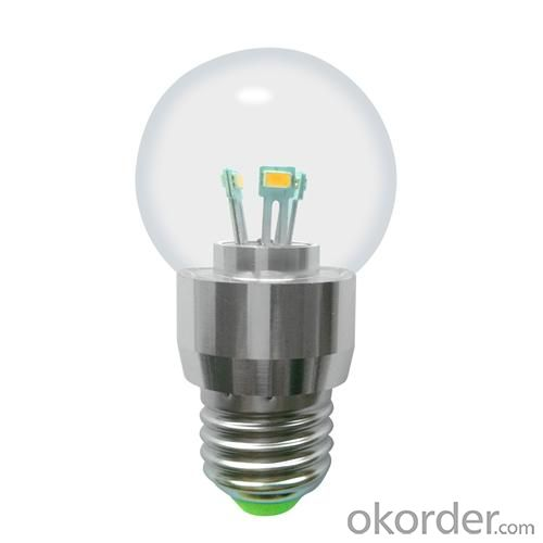 Dimmable LED Globe Bulb G50 5W E14 380lm 85-265V E12/E14/E17/E26/E27/B15/B22 SMD LED Chip Clear/Frosted/Milky Glass Cover