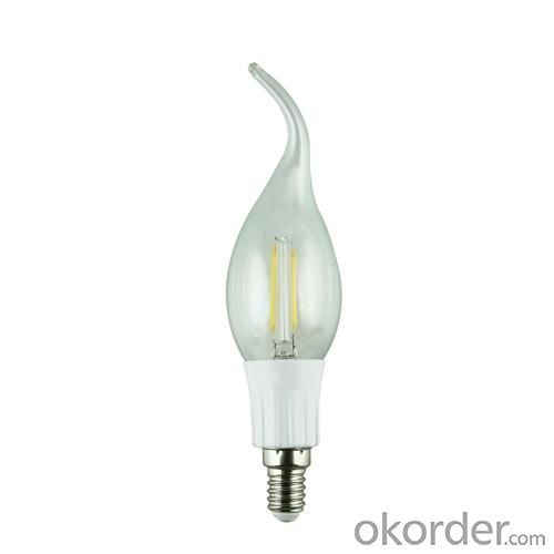 LED Filament Lamp 360°Globe Bulb E27 A60 6W AC110V/220V 420-450lm Warm White/White