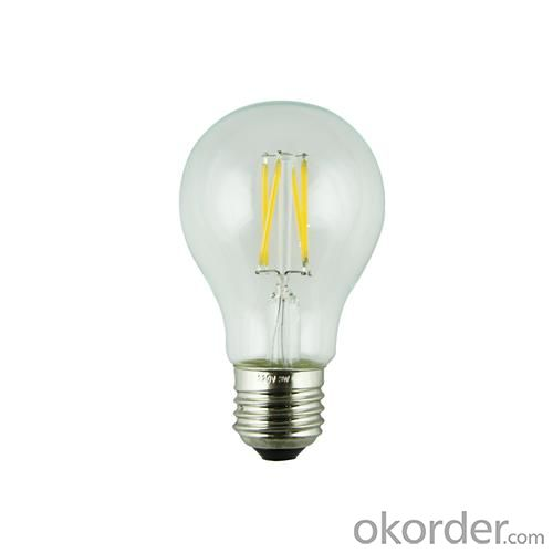 LED Filament Lamp 360°Globe Bulb E27 A60 3.6W AC110V/220V 420-450lm Warm White/White