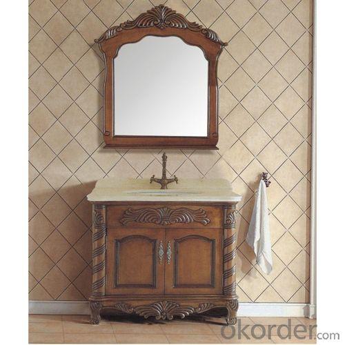 Luxury Oak Bath Vanity Cabinet