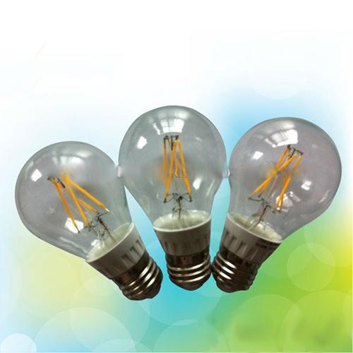 LED Filament Lamp 360°Globe Bulb E27 A60 6W AC110V/220V 620-650lm Warm White/White
