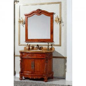 Classical Oak Bath Cabinet Bathroom Vanity