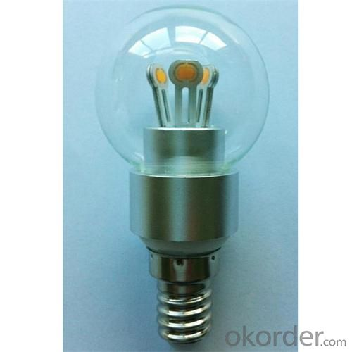 LED Globe Bulb G50 4W E14 200lm 85-265V E12/E14/E17/E26/E27/B15/B22 COB LED Chip Clear/Frosted/Milky Glass Cover