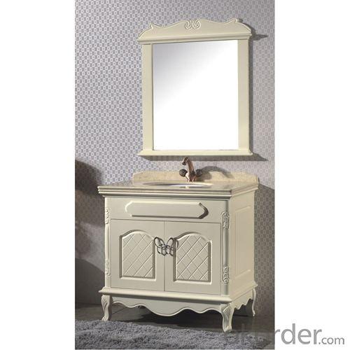 Good Quality White Bath Mirror Cabinet