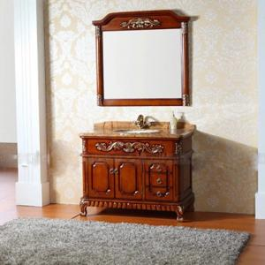 High Quality Solid Wood Bathroom Cabinet