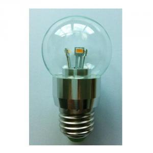 SMD LED Chip LED Globe Bulb G40 3W E14 180lm 85-265V E14/E17B15 Clear/Frosted/Milky Glass Cover