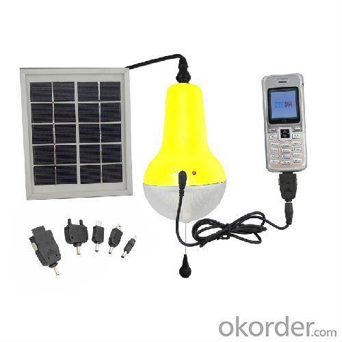 China Factory High Quality 5V Mobile Charge Solar Lamp 150lm Solar Emergency Light Solar Lantern Yellow