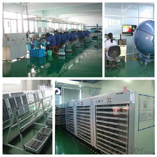 solar lighting products factory