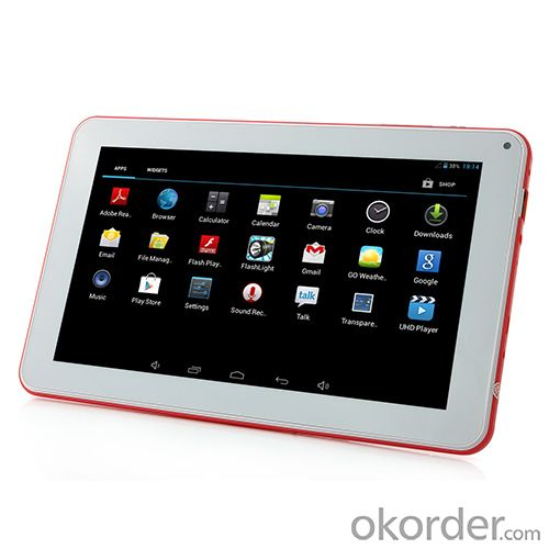 7inch Black Tablet PC CAM707 M RK3026 Dual cores 512Mb + 4G
