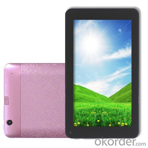 Android 4.2 Tablet PC 7 Inch MID With VIA8880 1.5GHz Dual Core A9 Processor 512MB 4GB WiFi Dual Camera Pink