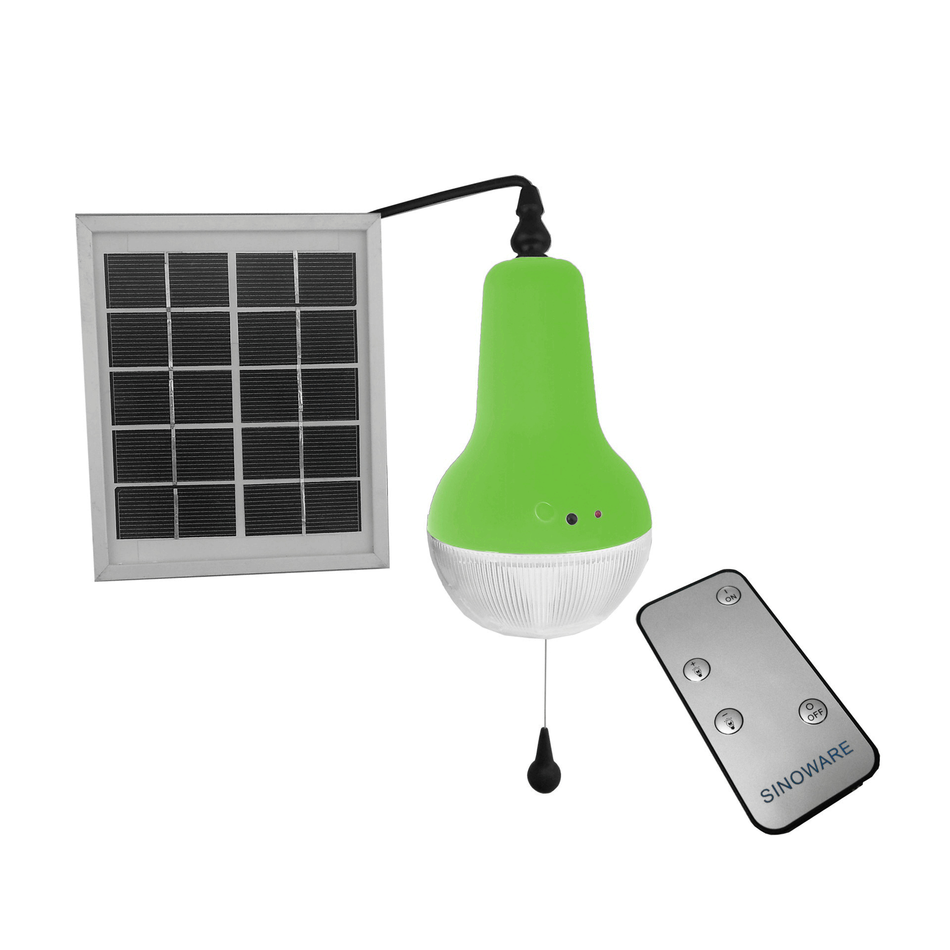 Professional China Supplier Remote Control Solar Lantern Super Bright Solar Lamp Solar Emergency Light Green