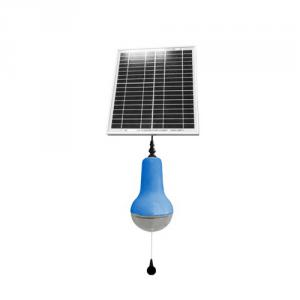China Best Solar Light Portable LED Solar Lantern 10LED 220lm High Lumens Solar Lamp Blue From China Manufacture