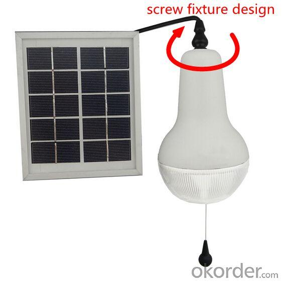 China Factory New High Quality Solar Light Indoor Dimmable Portable Solar Lamp 150lm 5V Solar or DC Charge White