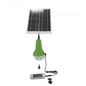 Best Quality China Manufacture 5V Mobile Charge Solar Lamp Portable Solar Power LED Lights 16 LED Solar Lantern Green