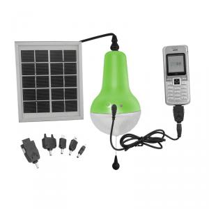 Professional China Supplier 5V Mobile Charge Solar Lamp Solar Light Indoor Solar Camping Light 150lm Green